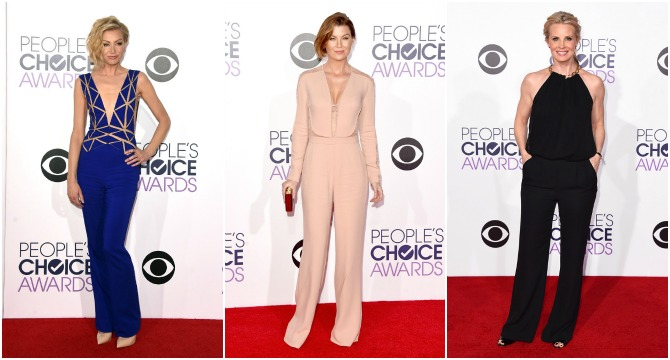 Peoples Choice Awards Pantsuit Fashion best dressed trends style portia de rossi ellen pompeo monica potter awards season e giuliana rancic fashion police usa fashion blogger style elixir