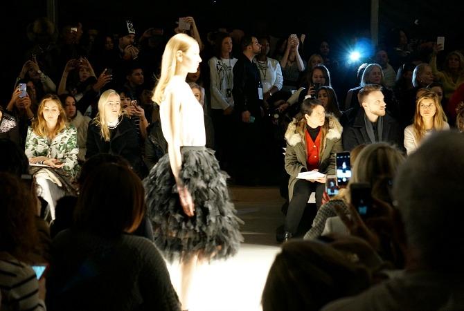 New York Fashion Week Tadashi Shoji Fall 2015 fashion show