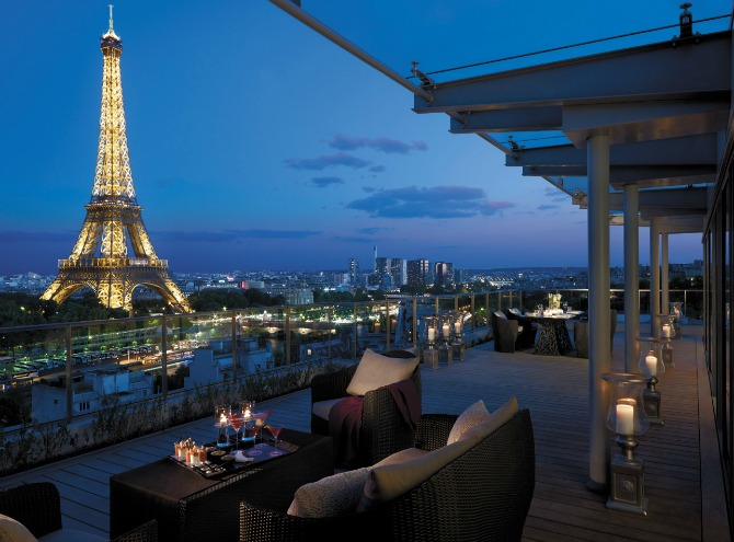 shangri-la paris france view eiffel tower hotel