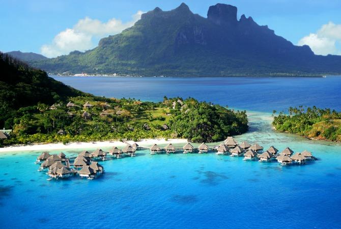 hilton bora bora presidential suite kardashians vacation hotel