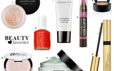 Fab Favorites Link Up – Spring Beauty Products