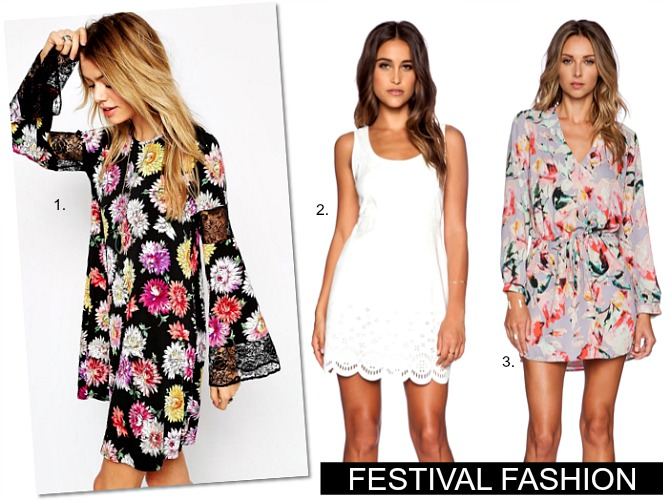 Festival Fashion floral dresses maxi dress boho celebrity style coachella