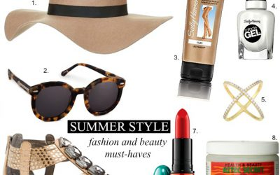 Fab Favorites Link Up – Summer Fashion and Beauty Must-Haves