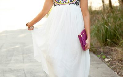 Style Sessions Flashback – White Summer Maxi Dress
