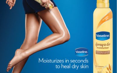 Prepare Your Skin For Any Weather With Vaseline Spray Moisturizer