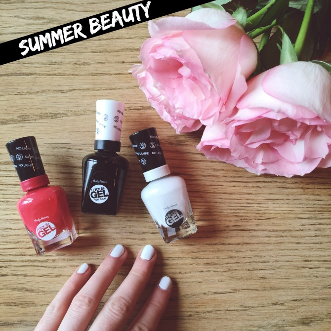 the best white nail polish summer beauty trend 2015