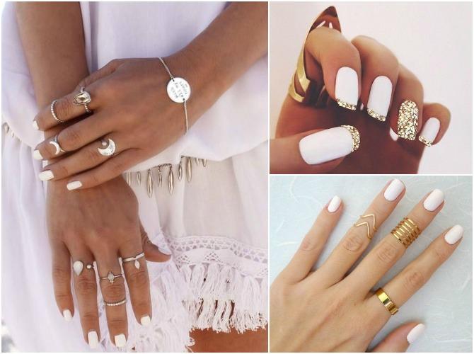 best white nail polish summer 2015 beauty trend