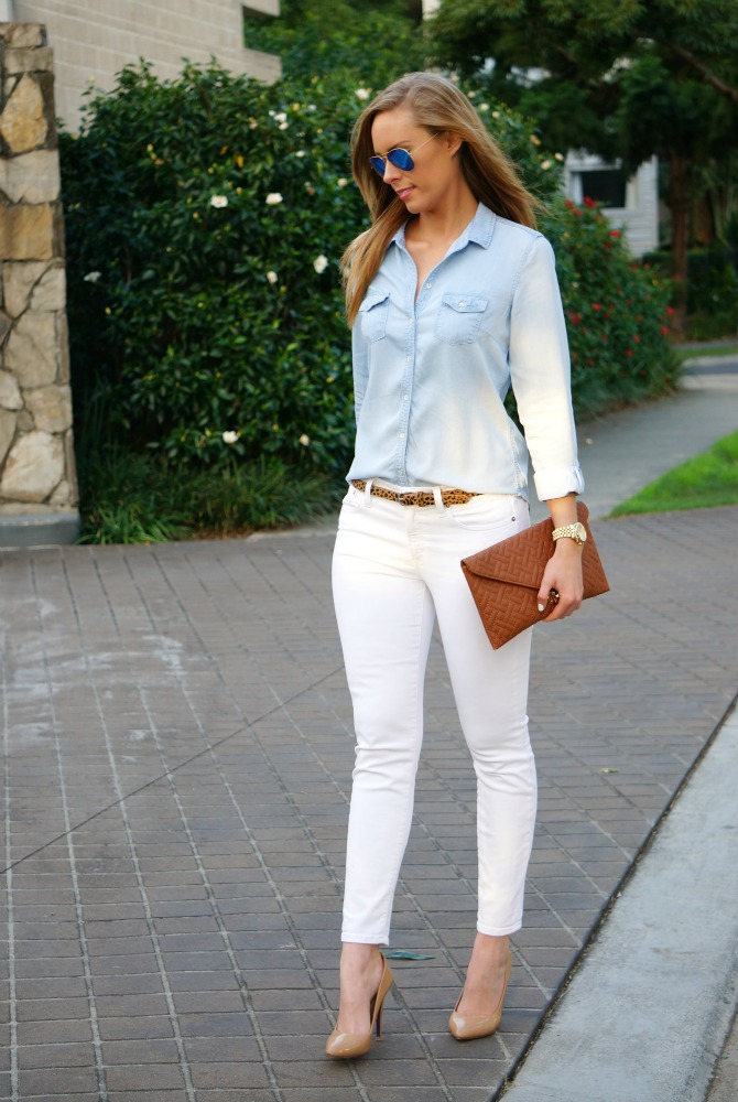 Style Sessions - How To Wear White Jeans