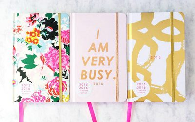 Giveaway – I am Very Busy Agenda + Home Office Accessories