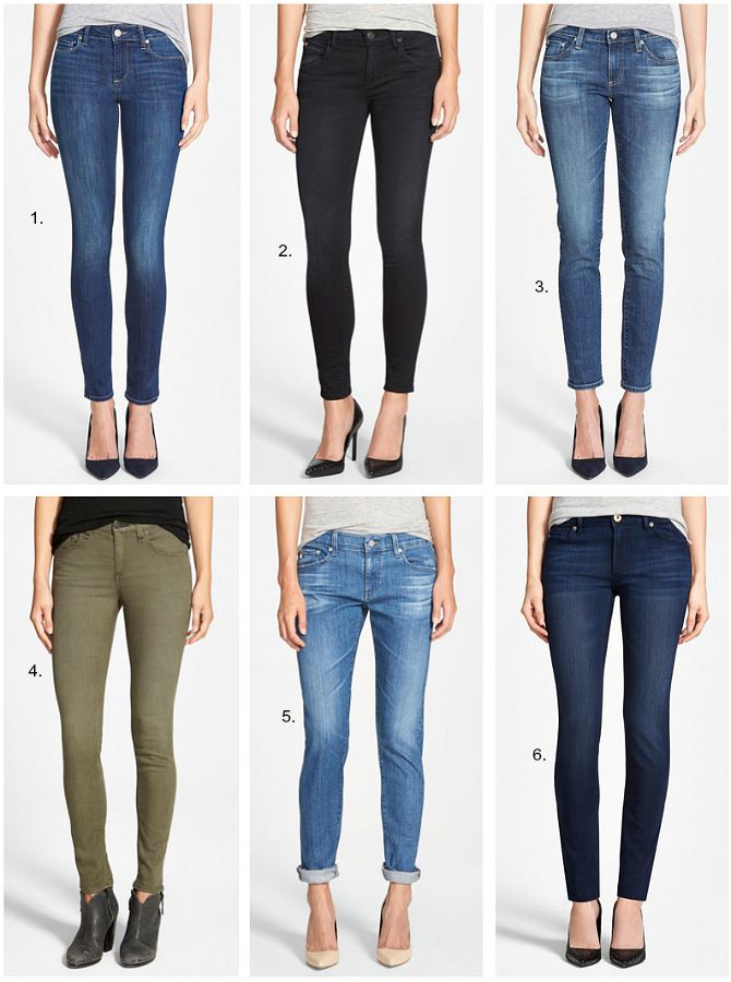 Nordstrom Anniversary sale denim edit jbrand rag and bone joes jeans paige denim