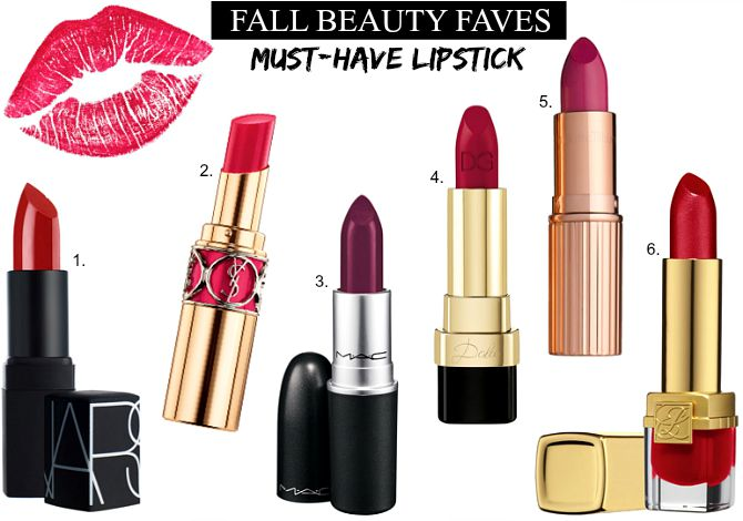Fall beauty trends lipstick shades plum berry red
