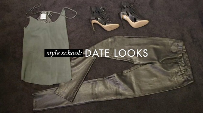 Style School Date Night Outfit Ideas Louise Roe what to wear on a date best date outfit video tutorial style elixir blog