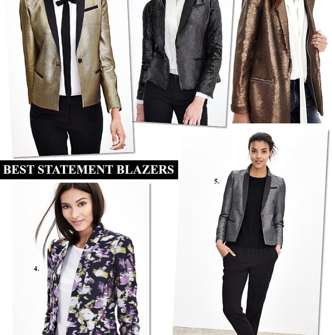 The Most Incredible Gold Metallic Blazer – Plus Win A Huge Giveaway over $1,800!