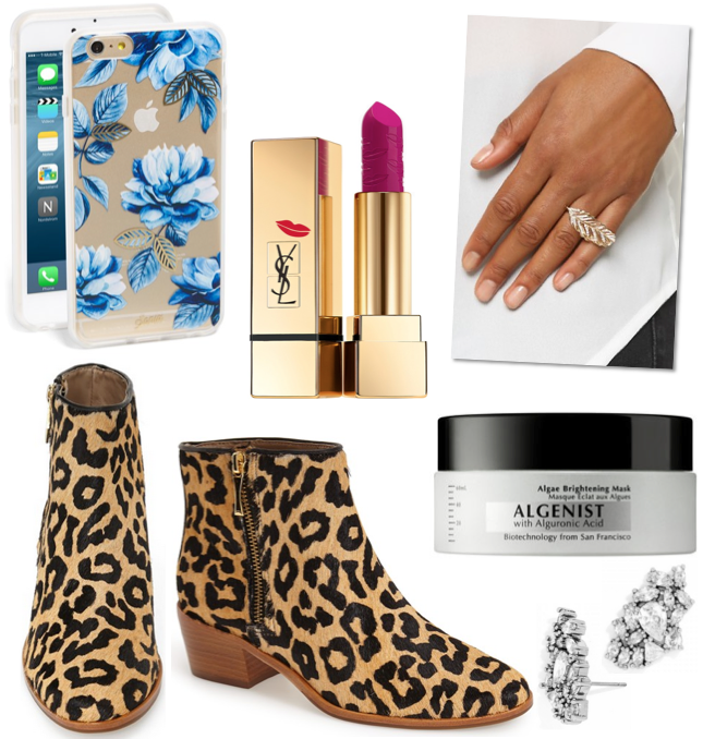 Currently Covet Leopard Booties iphone 6 plus case flowers algenist face mask feather knuckle ring