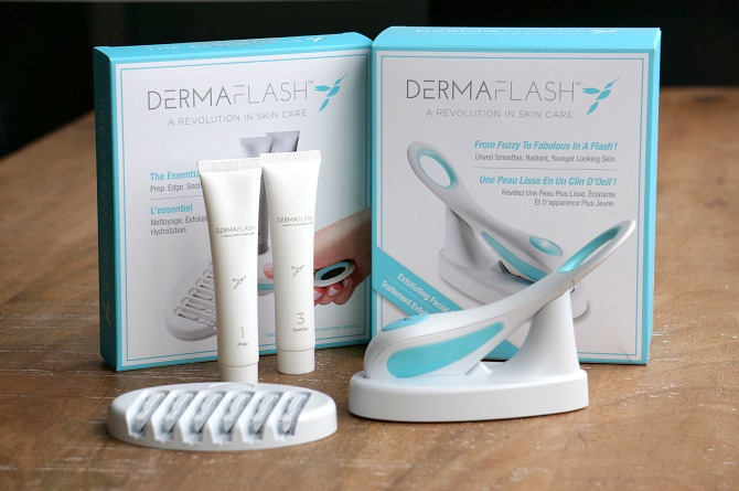 Dermaflash exfoliation at home cosmetic sephora