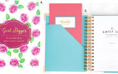 Fab Favorites Link Up – Best Planners For Entrepreneurs, Bloggers and Girl Bosses!