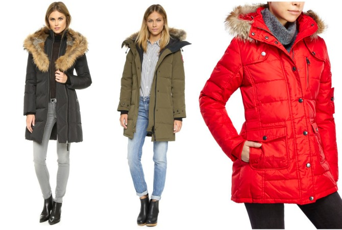 designer Down Coats mackage trish on sale