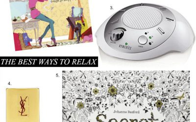 Fab Favorites Blog Link Up – My Favorite Ways To Relax and Zone Out