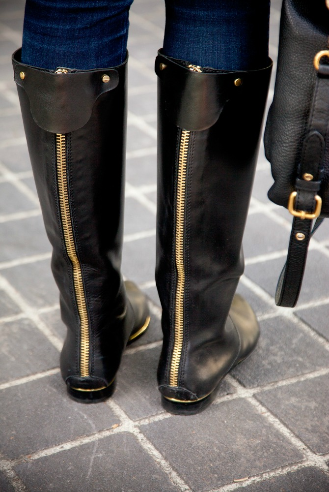 The Best black knee high boots fashion blogger new york style lauren slade style elixir blog