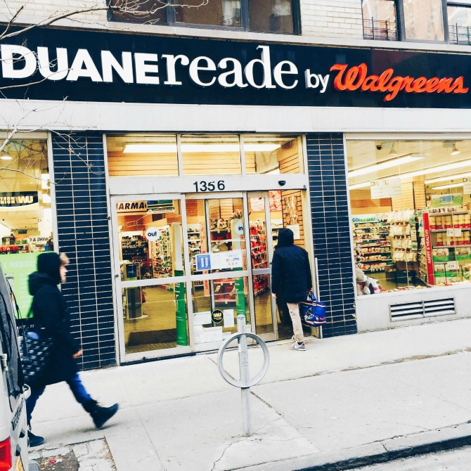Duane Reade Store location Walgreens