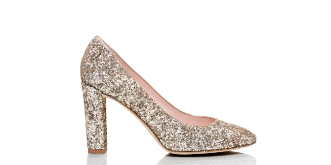 Kate Spade Dani Too Heels glitter shoes