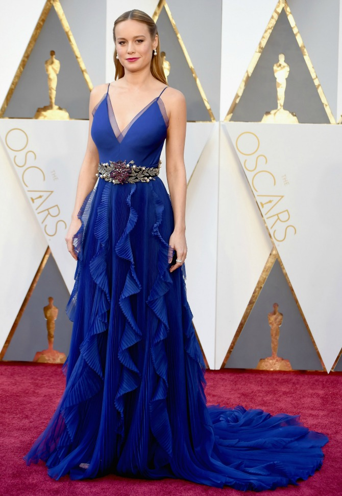 brie-larson-red-carpet- 2016 Oscars Best Dressed