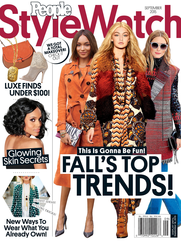 People Style Watch Magazine September Issue blogger lauren slade style elixir blog new york los angeles australia