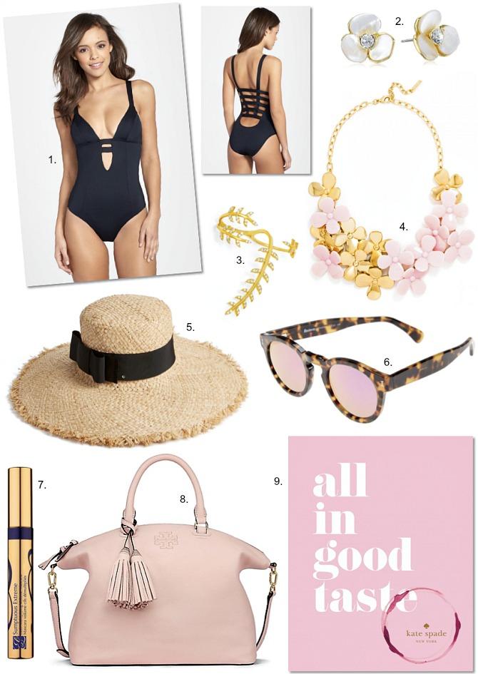Vitamin-A-swimwear estee lauder mascara kate spade all in good taste book black one piece swimsuit