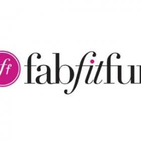 fab fit fun logo beauty fitness fashion blogger
