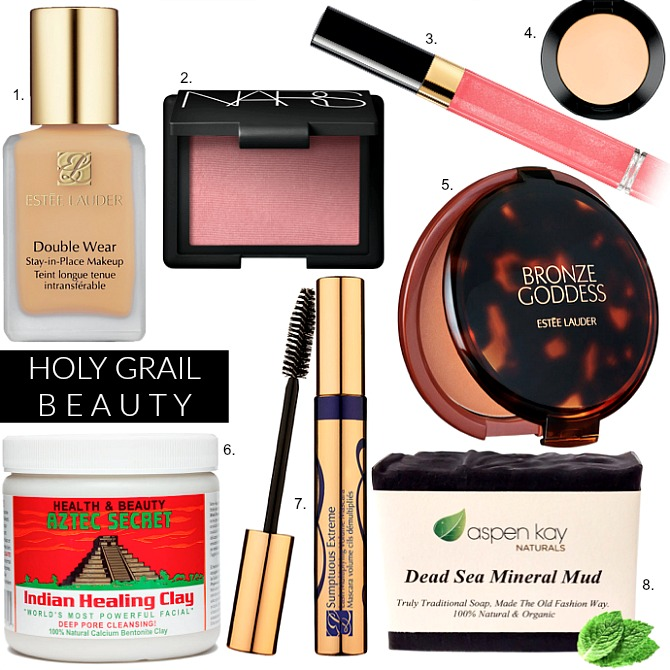 holy-grail-beauty-products-double-wear-aztec-secret-indian-healing-clay-dead-sea-mineral-mud-soap-best-mascara-foundtion-concealer-nars-blush-review