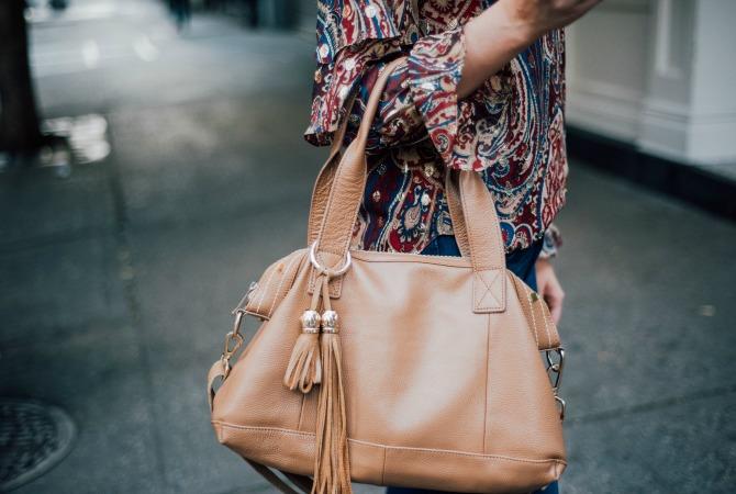 haute-hippie-kennedy-ruffle-blouse-j-brand-jeans-boho-style-soho-new-york-street-style-fashion-blogger-lauren-slade-style-elixir-blog-tan-handbag