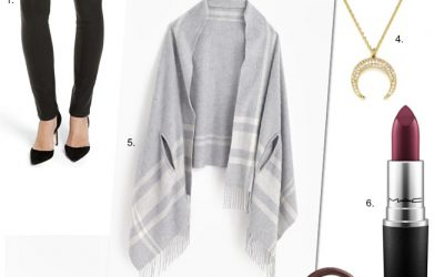Friday Faves – I'm Obsessed With The Mindy Project + Must-Have Grey Scarf Cape