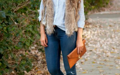 Style Sessions: The (Faux) Fur Vest Every Girl Needs