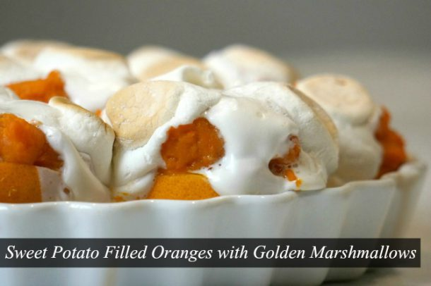 thanksgiving recipe Sweet Potato Marshmallow Recipe