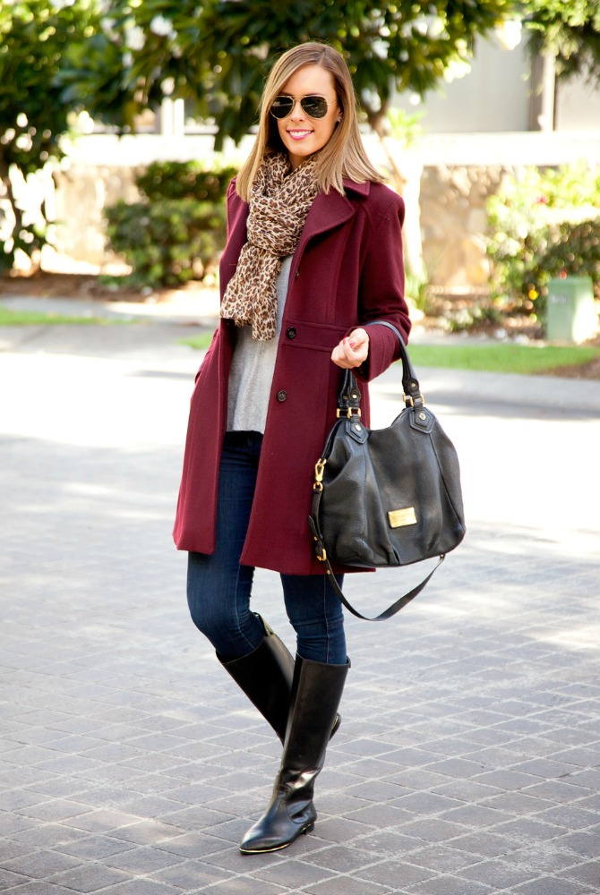 blog-link-up cashere wool michael kors coat stylish winter outfit ideas