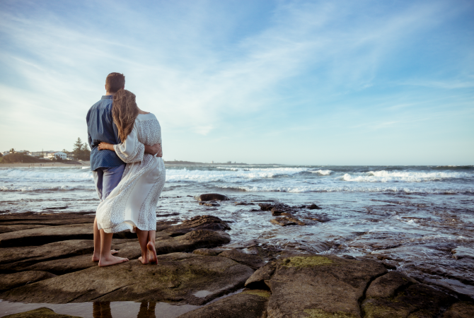 Style Sessions: Our Engagement Photoshoot on the Beach