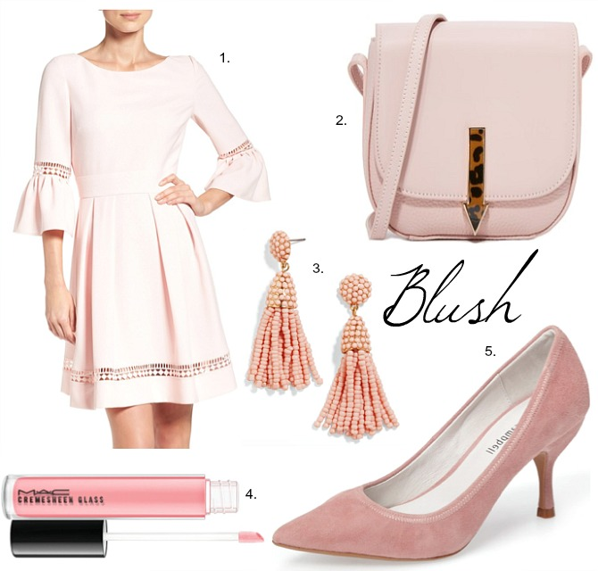 Blush Pink Fashion Favorites