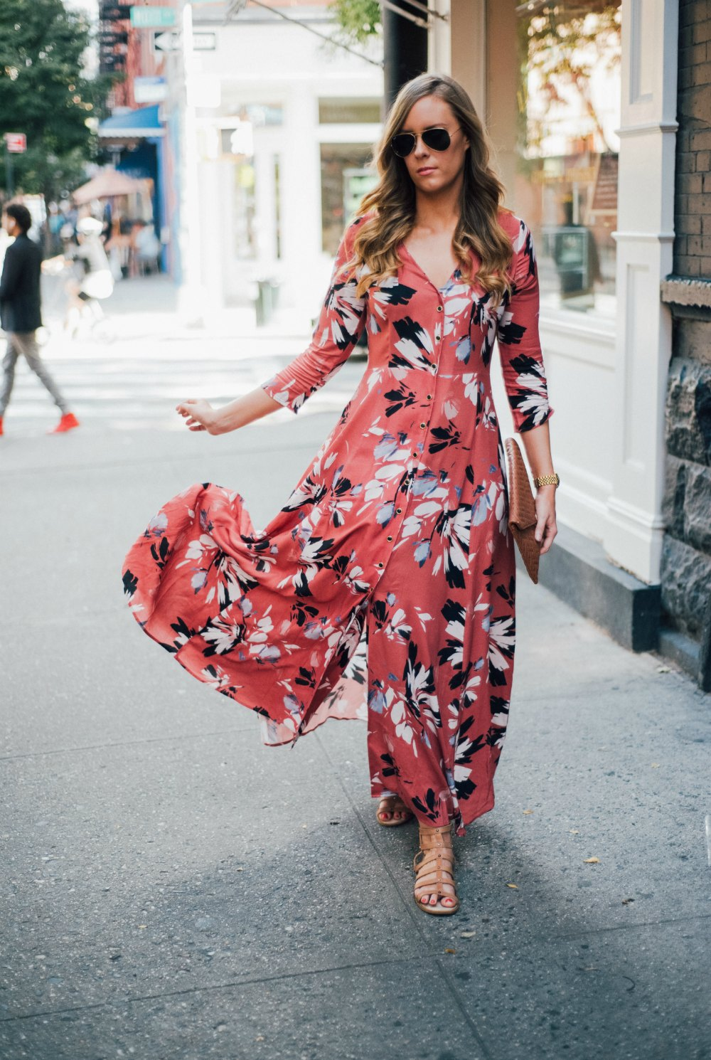 yumi kim maxi dress new york spring outfit soho lauren slade style elixir fashion blog 10