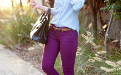 Style Sessions – How To Wear Colored Jeans