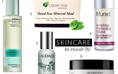 Friday Faves: 5 of the Best Skincare Products I Can't Live Without