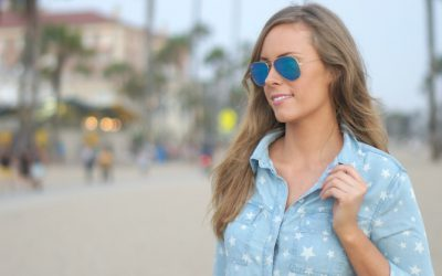Style Sessions: 4th of July Outfit – Perfect Star Chambray Shirt