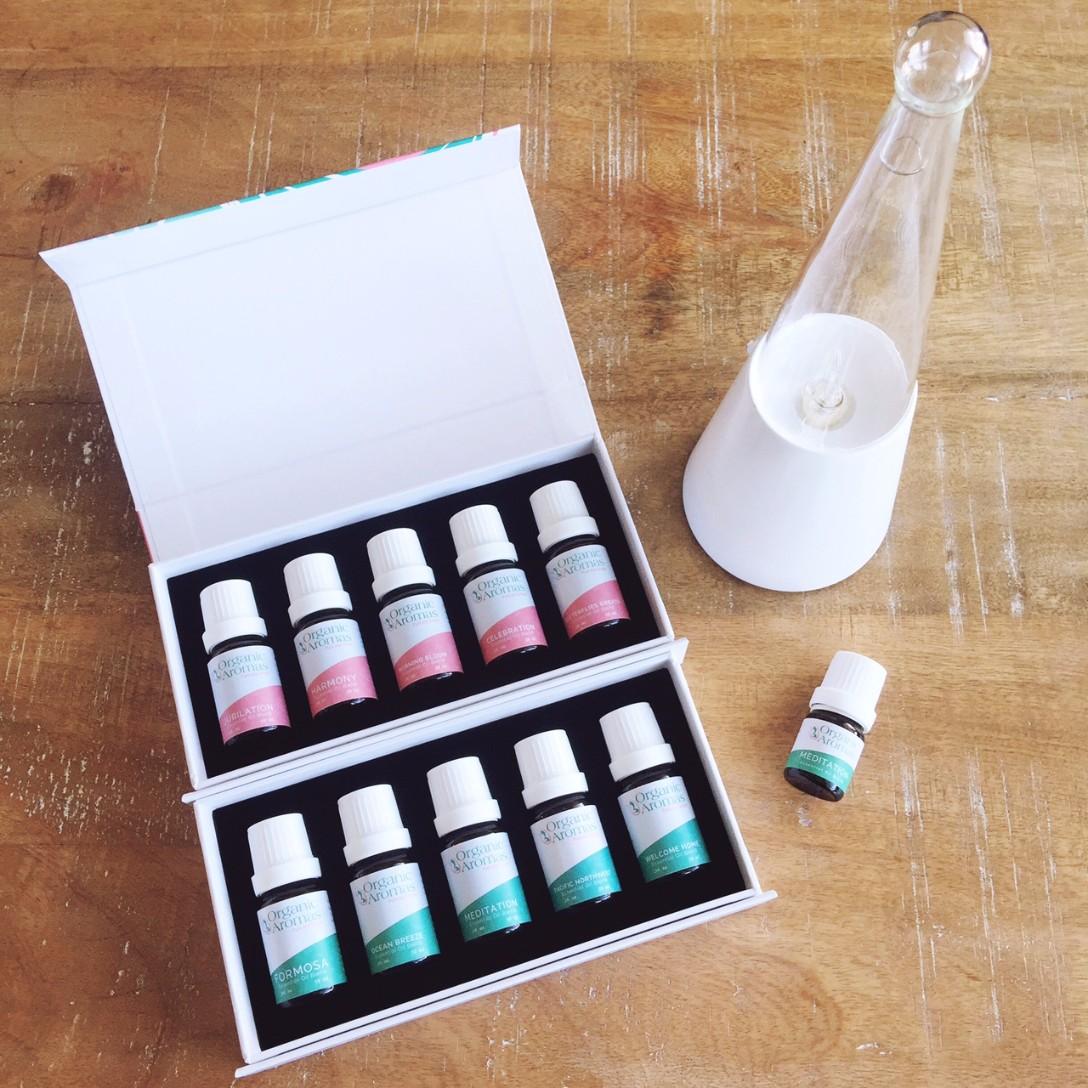 Organic Aromas Essential Oil Diffuser review 2