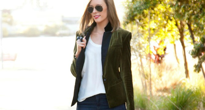 Suede Blazer How to wear a blazer fashion blog style elixir lauren slade