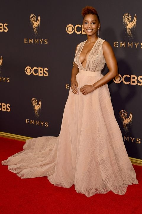 Anika Noni Rose in Thai Nguyen Atelier Emmy Awards 2017 best dressed