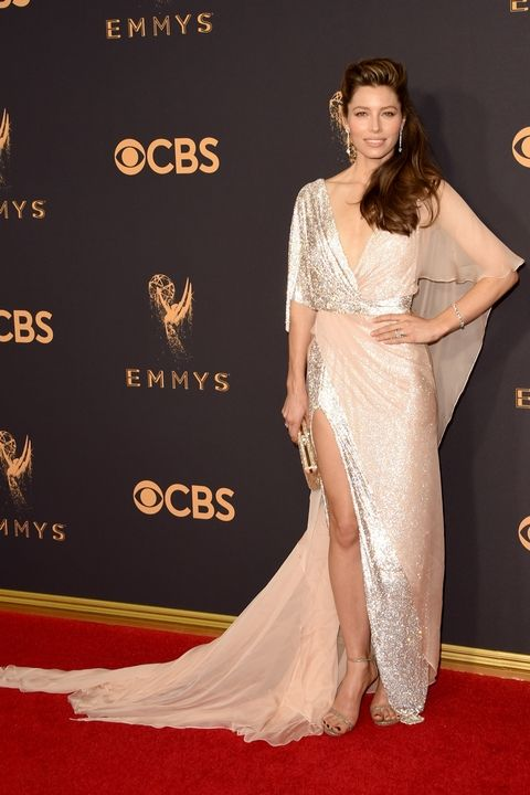 Jessica Biel in Ralph Russo Couture Emmy Awards 2017 best dressed
