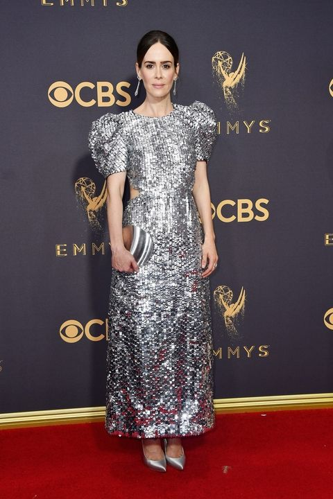 Sarah Paulson in Carolina Herrera Emmy Awards 2017 best dressed