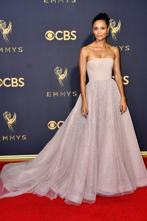Thandie Newton in custom Jason Wu Emmy Awards 2017 best dressed
