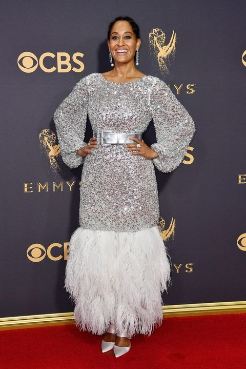 Tracee Ellis Ross in Chanel Couture Emmy Awards 2017 best dressed outift