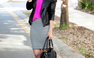 Style Sessions – Pretty Fuchsia Tops and Stripes Every Girl Needs