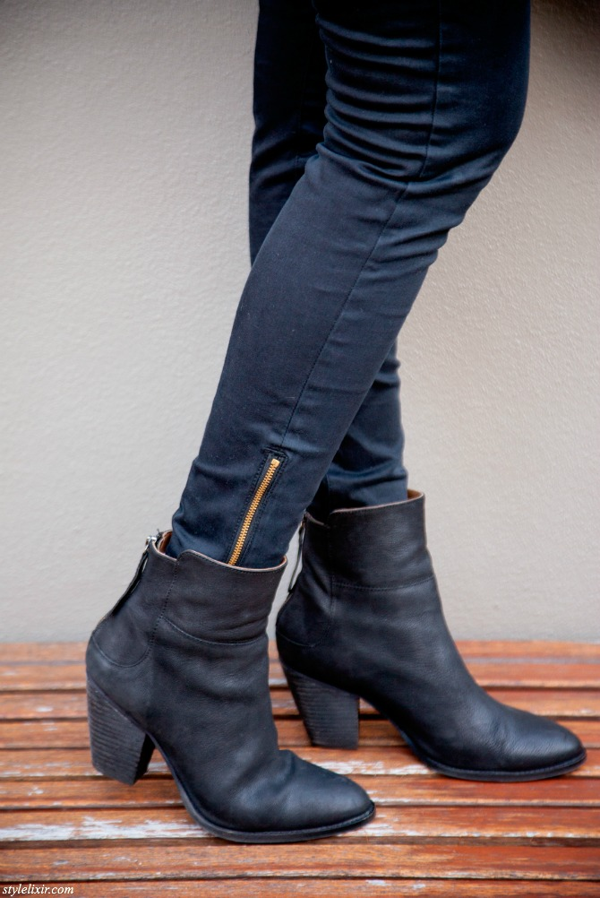Best Fall Boots For Every Budget black Rag and Bone booties